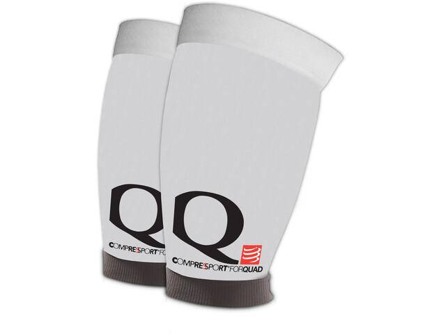 Compressport Quad Sleeves White